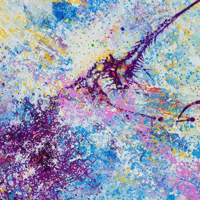Cosmic Sunsplash. Oil on Canvas. 3040
